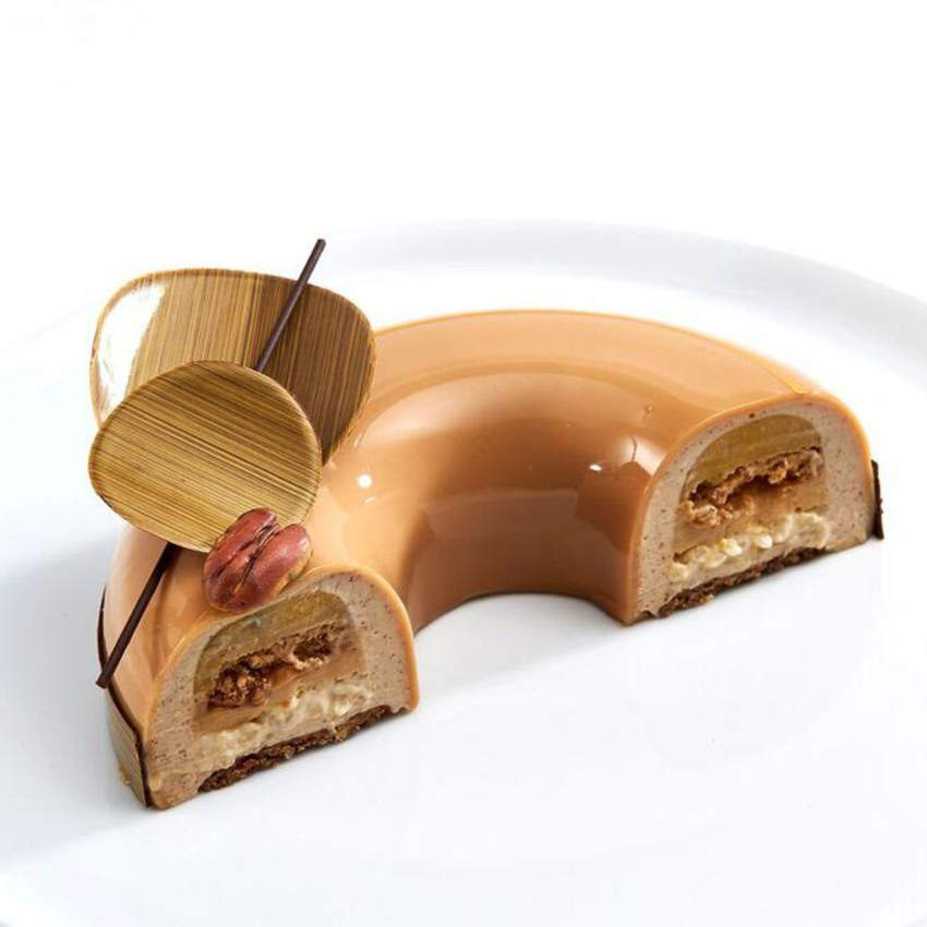 Nutty Caramel Georgia Entremet Recipe