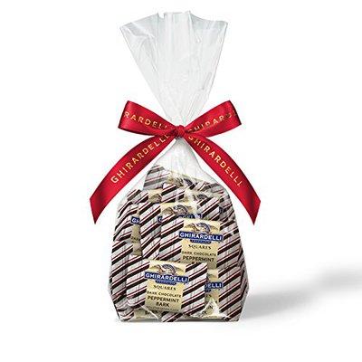 Ghiradelli Dark Peppermint Bark Gift Bag