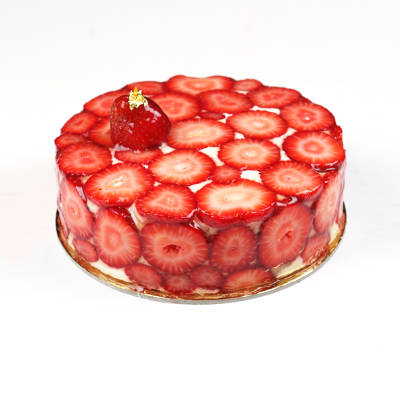 Strawberry Fromage Entremet